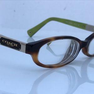Coach Women Eyeglasses Frame Kinslee Tortoise 135